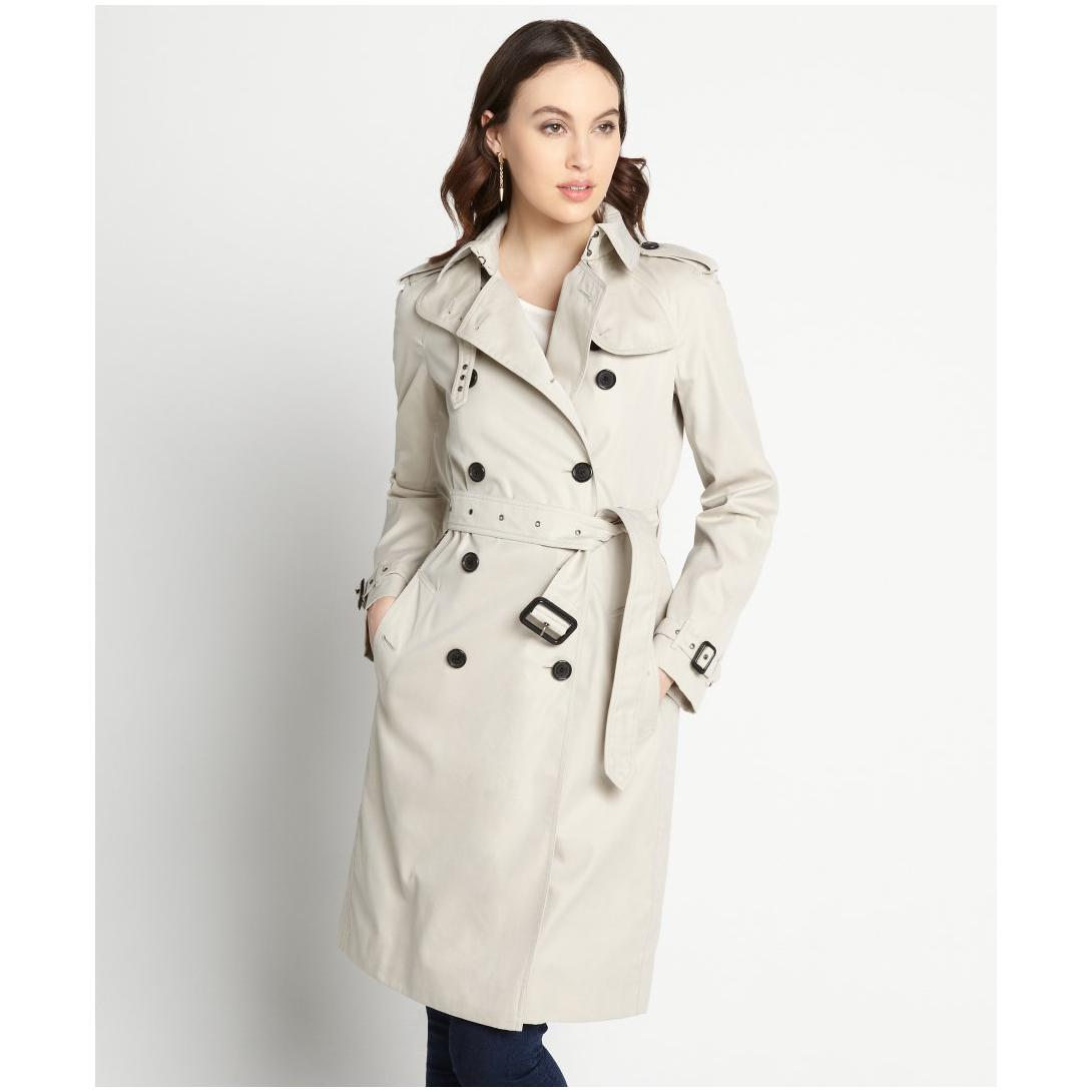 trench coats for women perfect womens trench coat : women s grey cotton belted lady trench coat SKBFXTZ