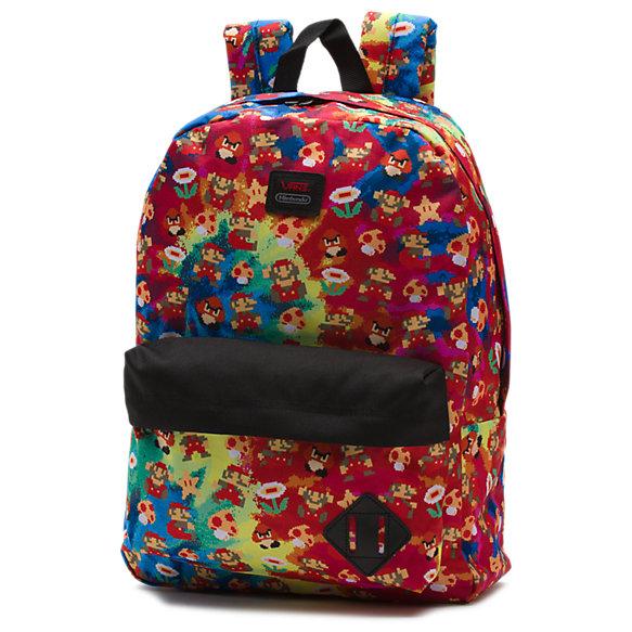 vans bags nintendo mario old skool ii backpack XTAYRRT