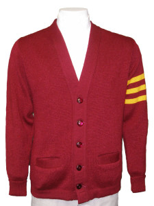 varsity sweater additional colors available - body or stripes (exact colors may differ  -swatches available MIKBMLU