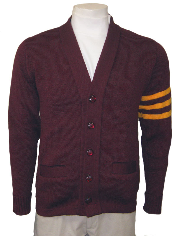 varsity sweater additional colors available - body or stripes (exact colors may differ  -swatches available RONNVJY
