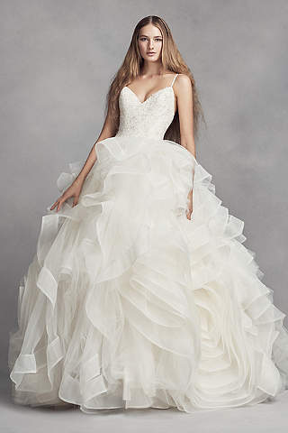 vera wang wedding dress white by vera wang. white by vera wang organza rosette wedding dress SIIPNDC