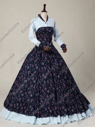 victorian dresses victorian costume dresses u0026 skirts for sale victorian civil war floral  print spring THDPNZW