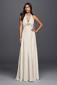 vintage style wedding dresses long sheath vintage wedding dress - wonder by jenny packham OIYYMJY