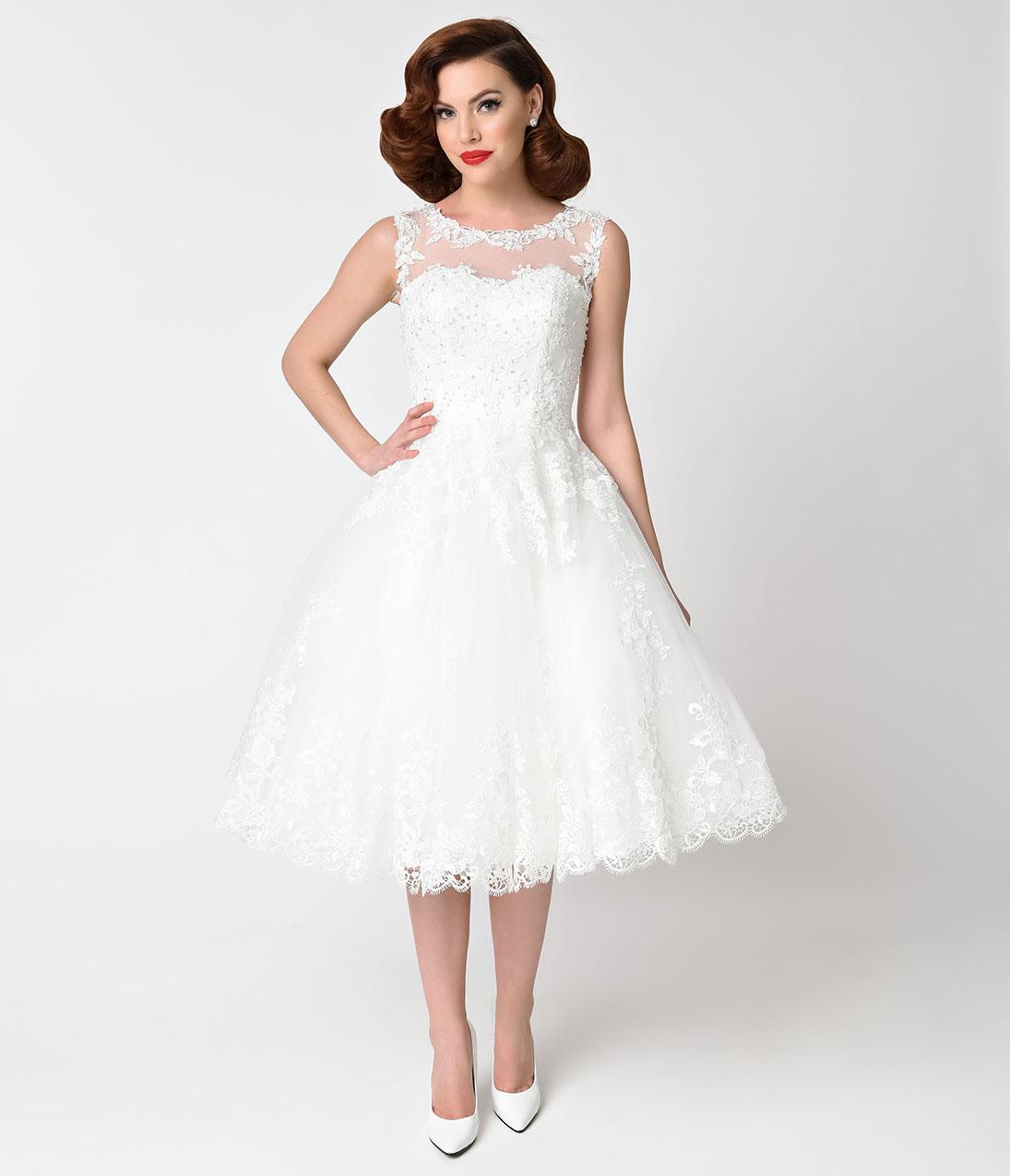 vintage style wedding dresses vintage inspired wedding dresses unique vintage 1950s style ivory lace  tulle riviera bridal UCDFHEU