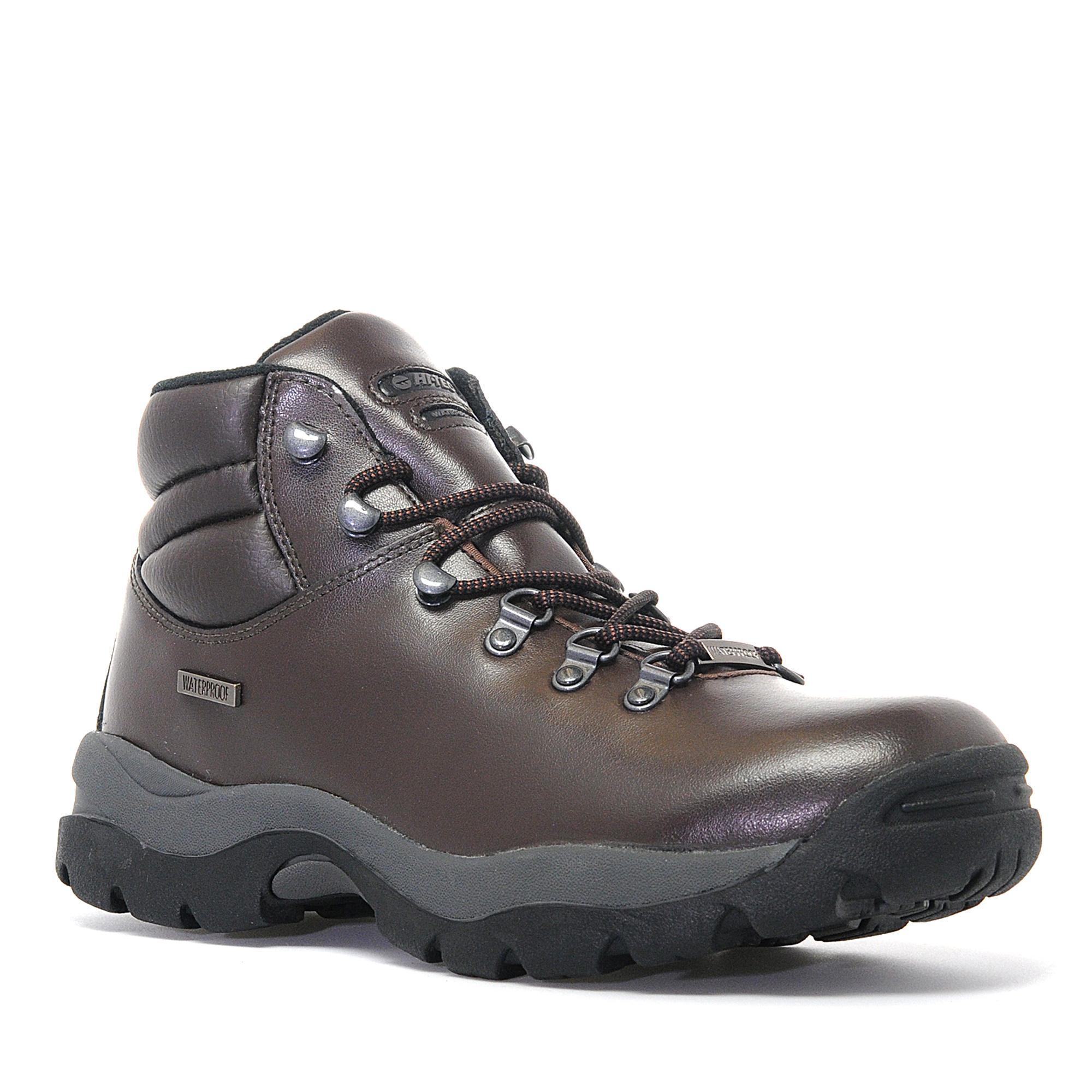 waterproof walking boots hi-tec menu0027s eurotrek waterproof hiking boot JNNWDLQ