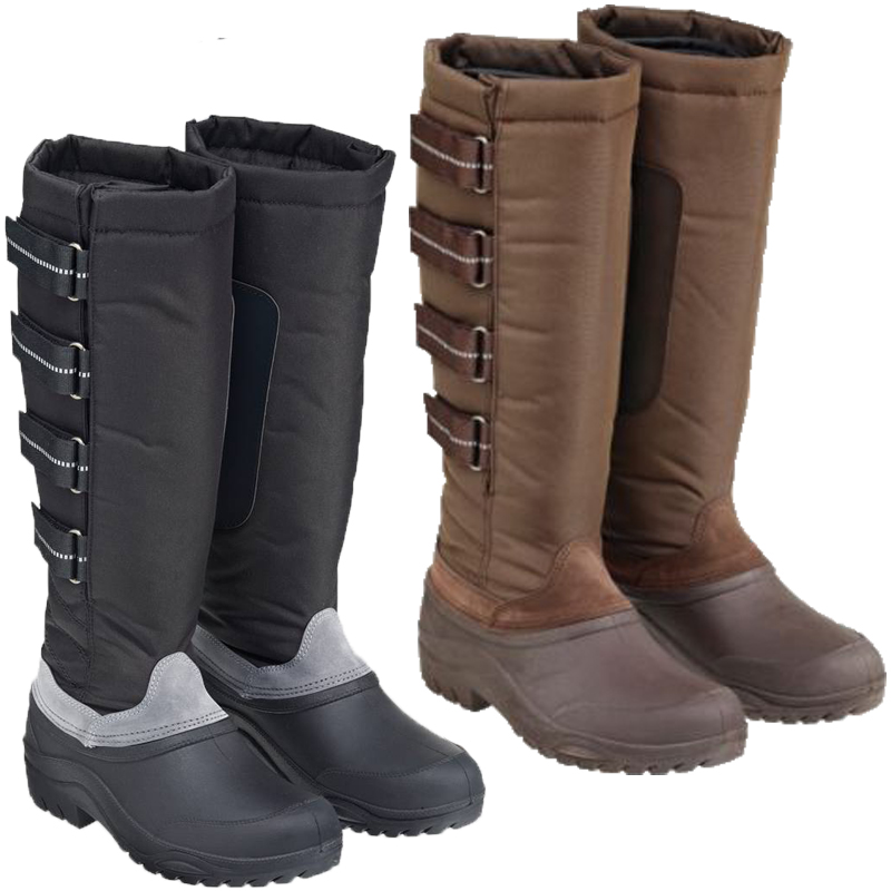 waterproof walking boots ladies harry hall tall winter waterproof sole rain snow walking boots size  3-8 IKTUMBJ