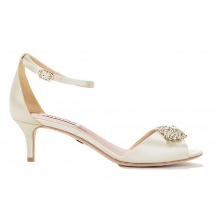 wedding shoes low heel acute by badgley mischka NCFOPCN