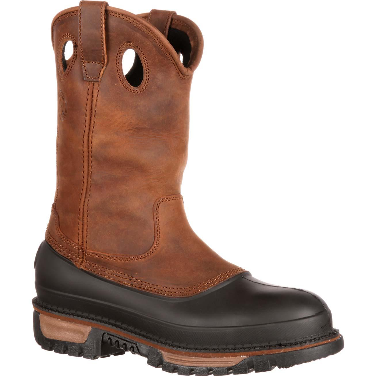 wellingtons boots georgia boot muddog steel toe waterproof wellington, , large PFJQMRB