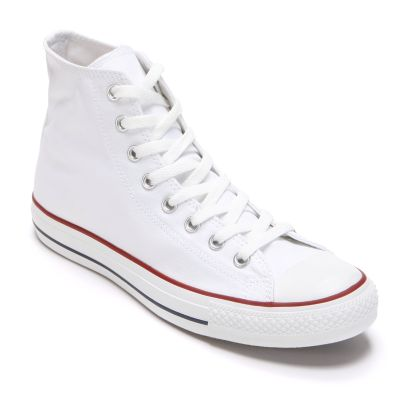 White converse adult converse all star chuck taylor high-top sneakers EOCAXFQ