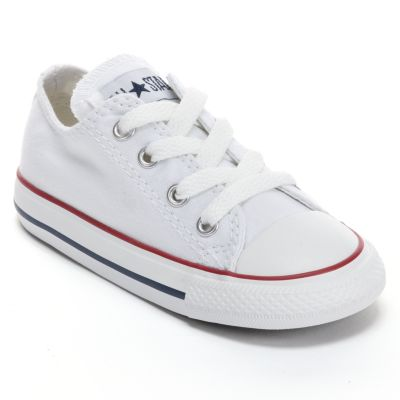 White converse baby / toddler converse chuck taylor all star sneakers FTNREJB