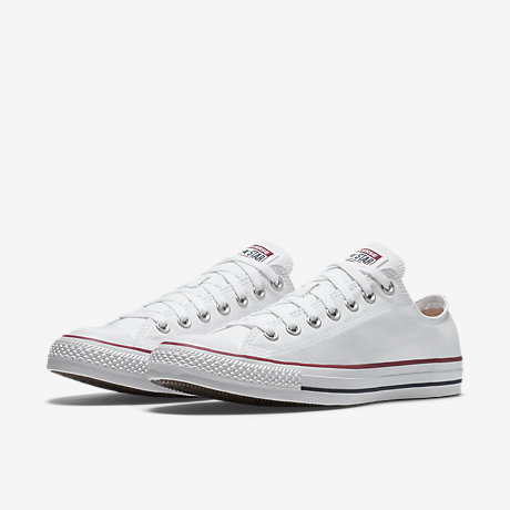 White converse converse chuck taylor all star low top unisex shoe. nike.com FWEIODX
