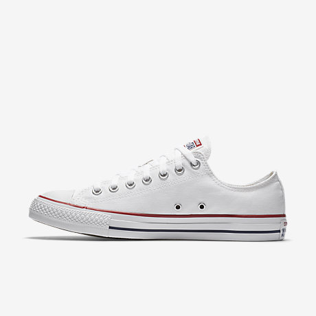 White converse converse chuck taylor all star low top unisex shoe. nike.com UOVERDO