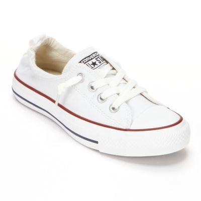 White converse womenu0027s converse chuck taylor shoreline slip-on shoes BCXJYDB