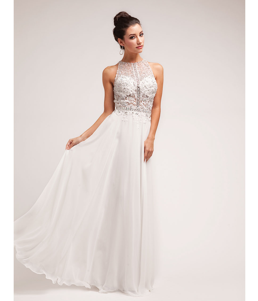white lace prom dress 1930s style prom dresses, formal dresses, evening gowns. preorder - off  white beaded WXMQJXO