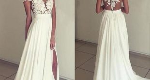 white lace prom dress prom dress,long prom dresses,cheap RBZXJCP