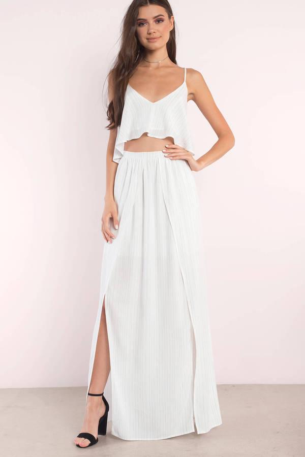 white maxi dress maxi dresses, ivory multi, loni striped tiered maxi dress, ... OZLWCQM