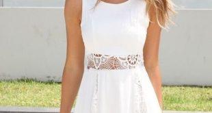 white summer dress white dress - summer fashion must have TLBVNQR