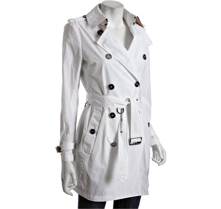 white trench coat gallery LDOPAOA