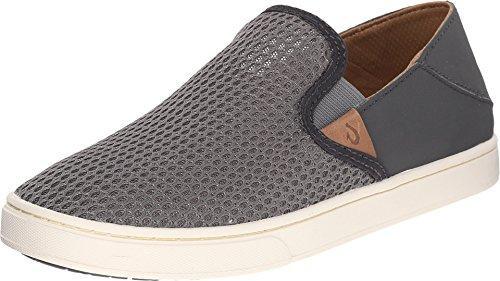 womens casual shoes olukai pehuea - womenu0027s casual shoes - charcoal/dk shadow XAIJHAZ