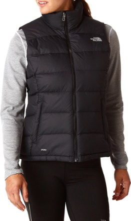 womens down vest online_only tnf black DRYMYZO