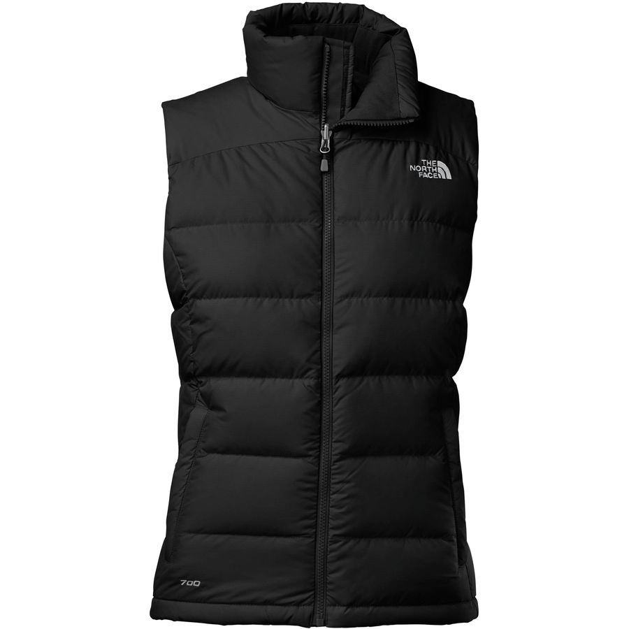 womens down vest the north face - nuptse 2 down vest - womenu0027s - tnf black RKLGMSA