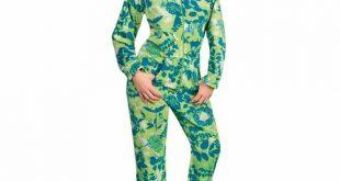 womens footed pajamas footed pajamas drop seat fleece nature silhouettes PNKYFME