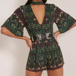 Show the Player in You and Try the Stylish Womens Playsuits