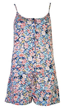 womens playsuits shorts ladies floral all in one cotton playsuit beachwear  (8) DDZNZTW