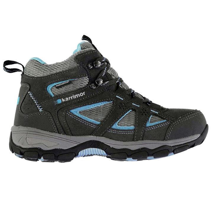 womens walking boots karrimor mountain mid top ladies walking boots QHEGLIY