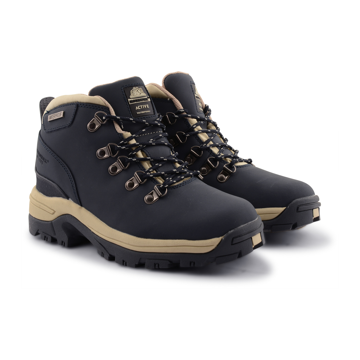 womens walking boots womens-hiking-boots-ladies-leather-groundwork-active-waterproof- HGRHFBB