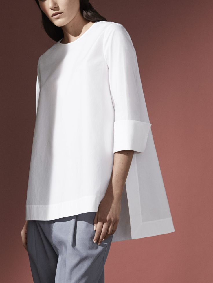 womens white shirt cos   sunlit silhouettes   @andwhatelse AYXNZSX