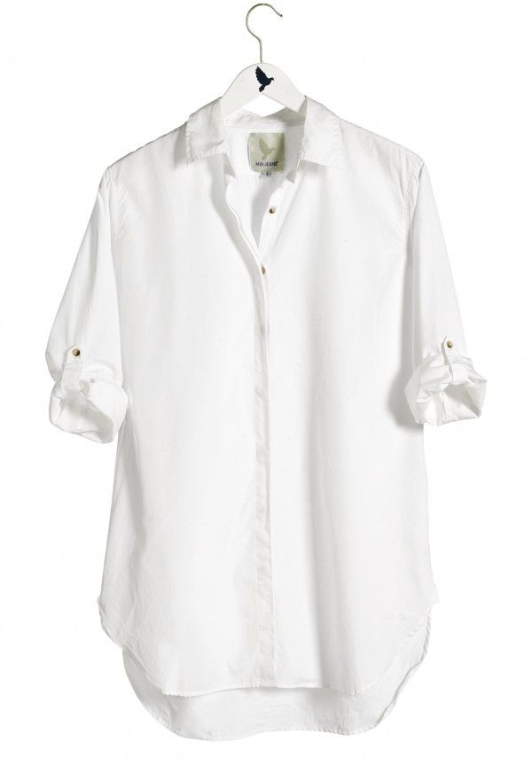 womens white shirt the oversize shirt - womens shirt - extra long shirt - polo white - EKQRNCM