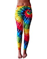 yoga clothing for you ladies rainbow tie dye leggings KYDFRNW