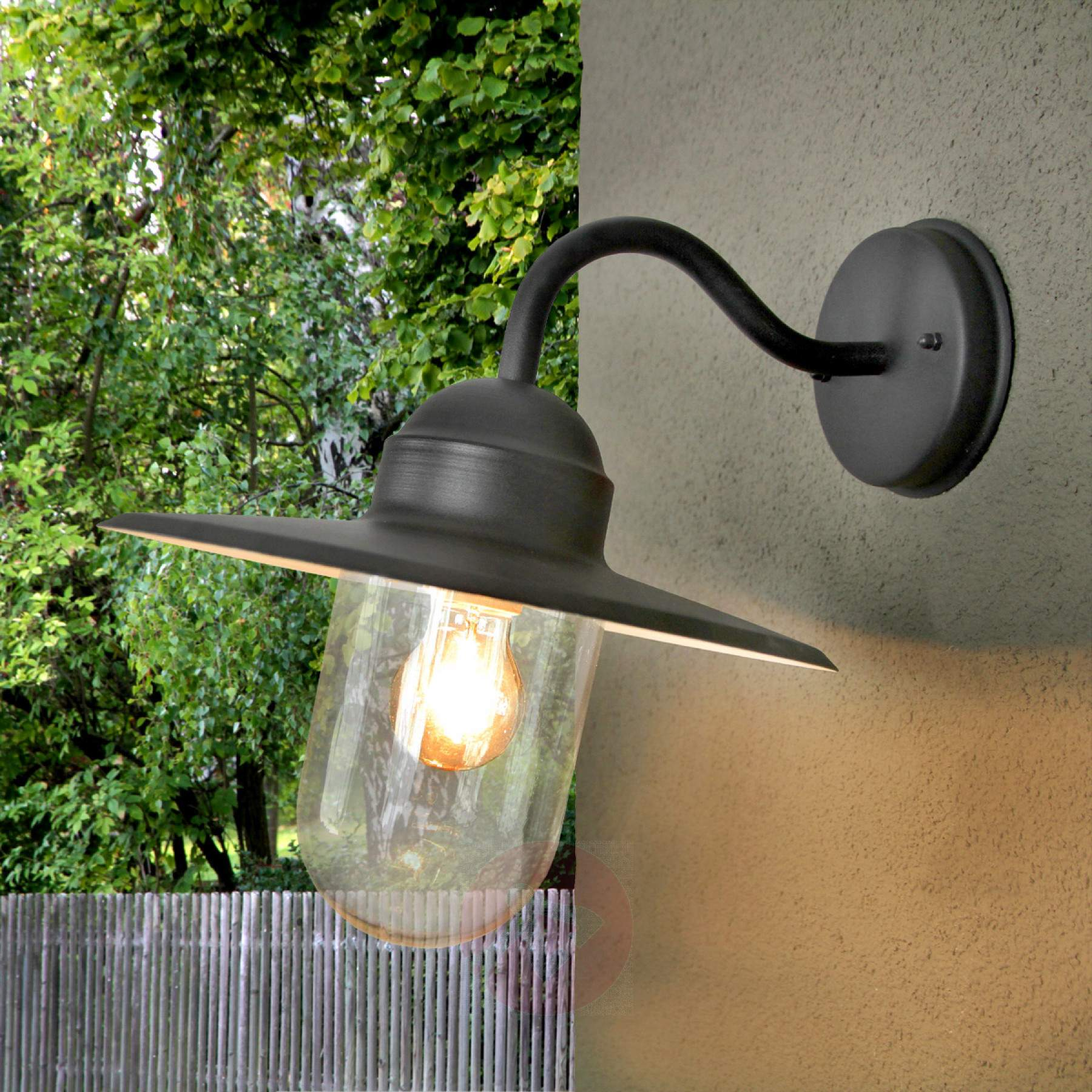 country house lighting ... black country house style outdoor wall light filip-9972025-09 ... TMIJSDO