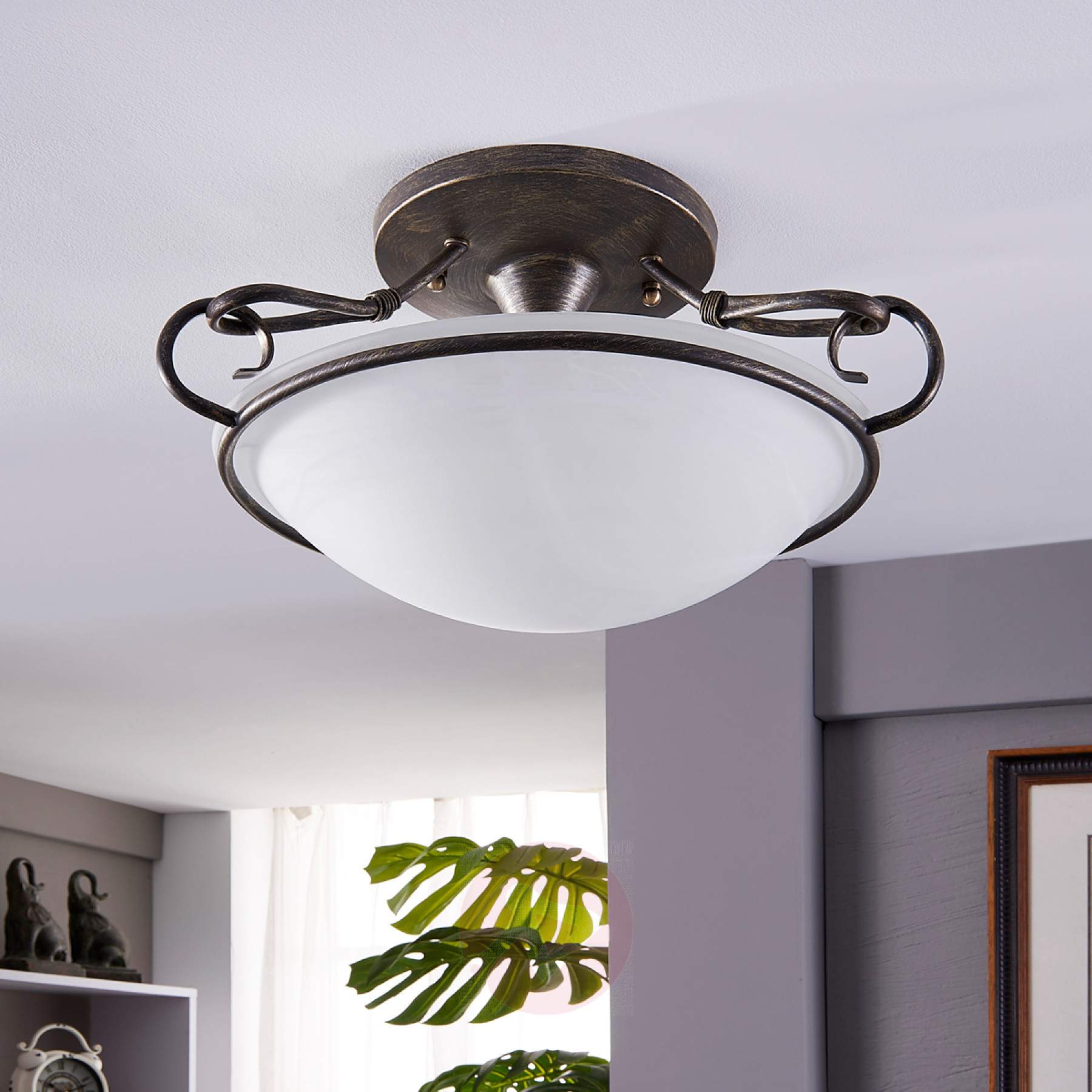 country house lighting stylish rando ceiling lamp in country-house style-9620989-03 ... SGUHDUL