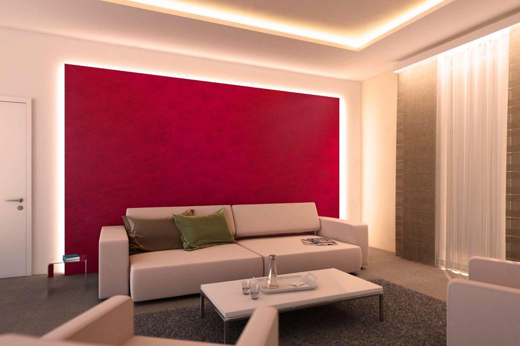 Indirect LED interior lighting indirect lighting led interior lighting with led strips by paulmann schema  von TUVQBOC