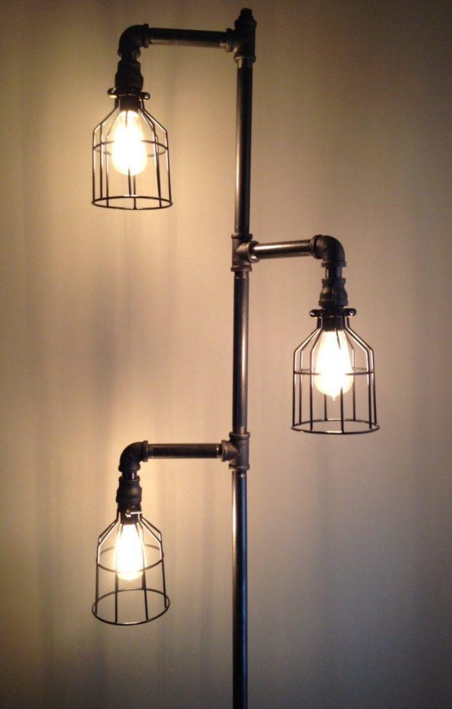 industrial lamps design modern industrial floor lamps   home lighting design ideas intended for  breathtaking ZEBCTUG