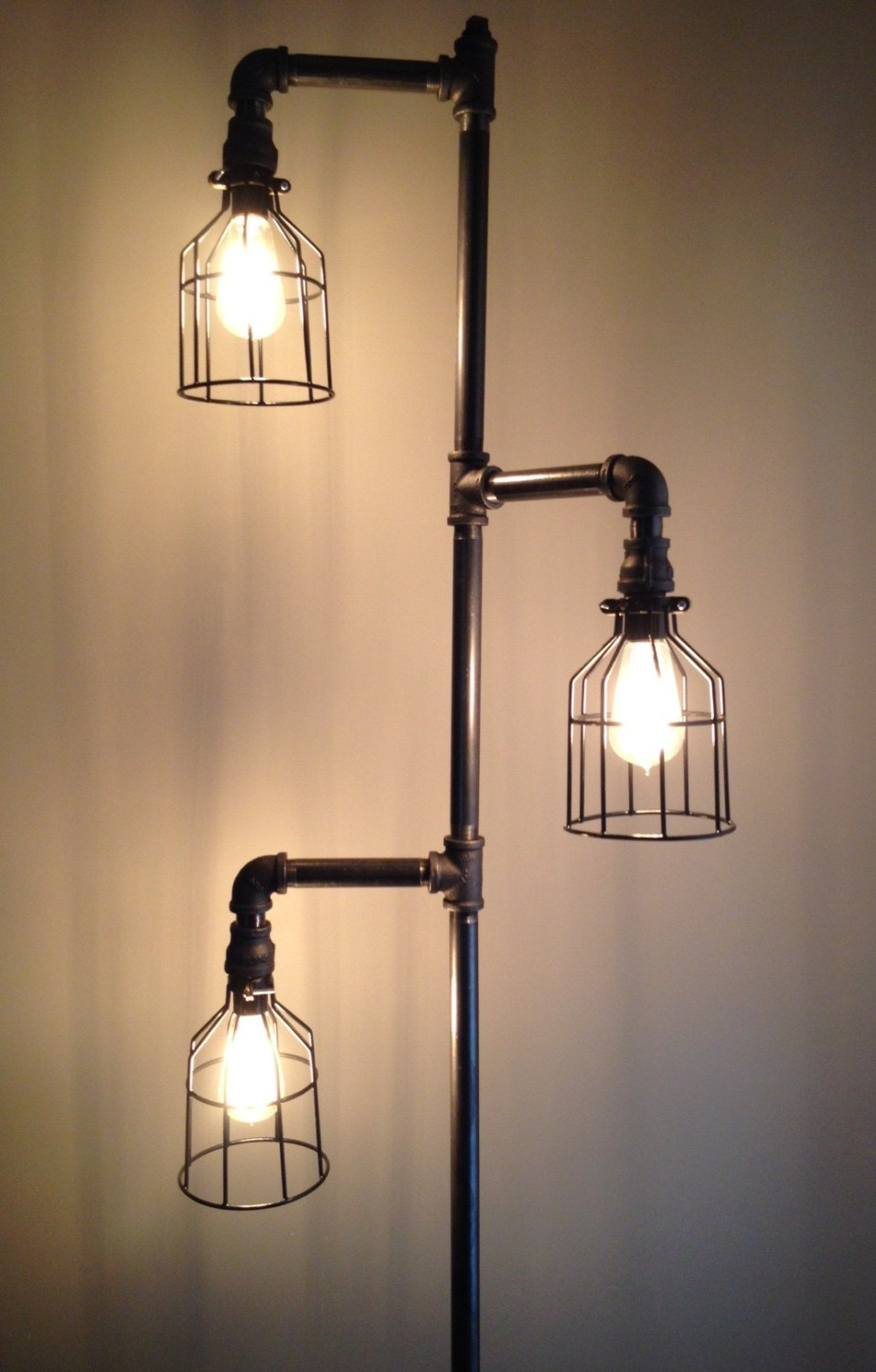 industrial lamps design modern industrial floor lamps | home lighting design ideas intended for  breathtaking ZEBCTUG