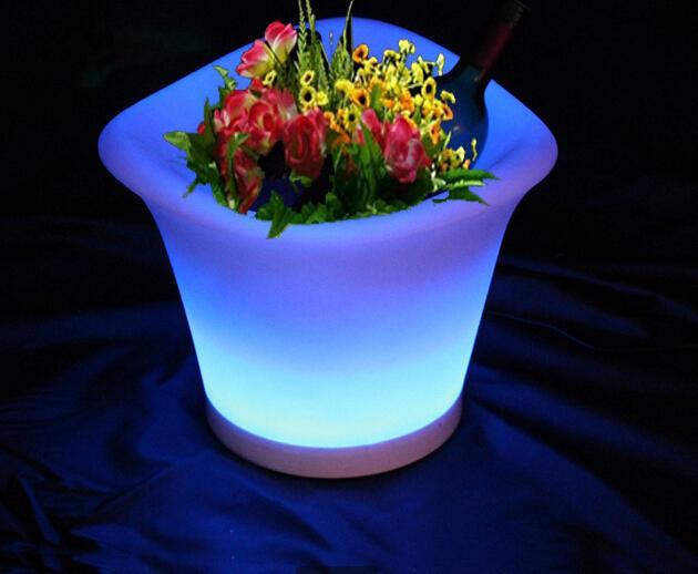 led flower pots 2018 new lights led garden flower outdoor pots light flower pots for home NTLBDWV