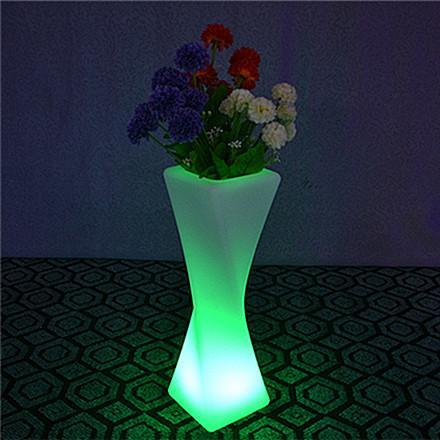 led flower pots best colorful twist pillar led flower pot for sale GSYXOTT