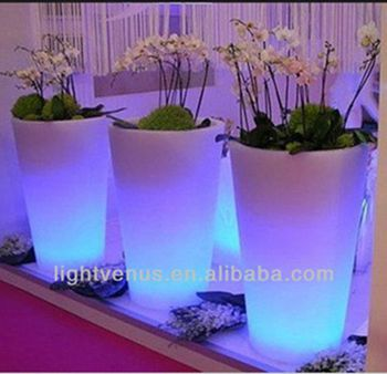 led flower pots led glowing flower pot UMJYQHX