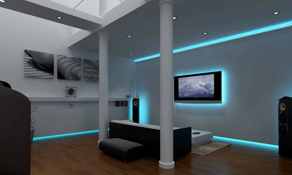 led lighting ideas for home brilliant cathedral ceiling accent wall smart  living STROLKR