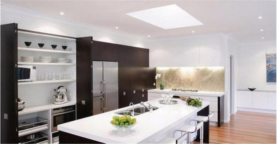 led panel kitchen lighting 20x ultra thin round 9w 12w 15w 18w led panel light ac 85-265v CIUCOKM