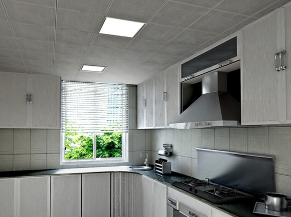 Lighting concepts with LED Panels – led panel kitchen ...