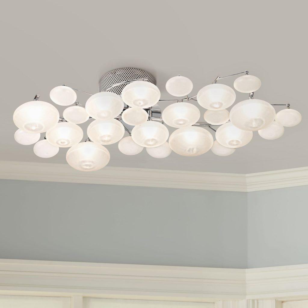 Modern Ceiling Lights possini euro lilypad 30 KAUHXAO