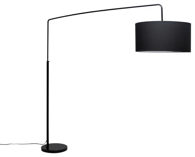 Modern Floor Lamps raku floor lamp, black NLHQSCW