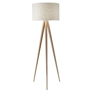 Modern Floor Lamps teterboro modern 60.25 YPJGFGR