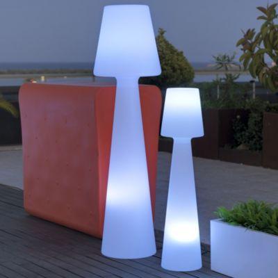 modern outdoor lamps ela led floor lamp QRCBFRY