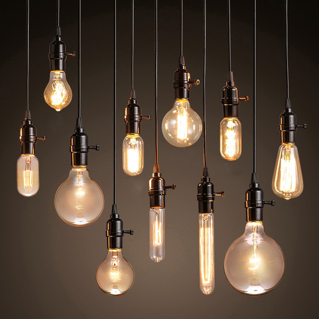 Pendant lights modern pendant lights loft vintage lamp industrial home lighting e27 220v  for LTHSYTA