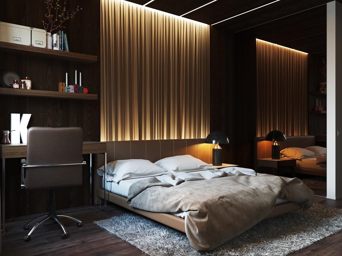 Room design with wall lights 25 stunning bedroom lighting ideas CSQJCQM